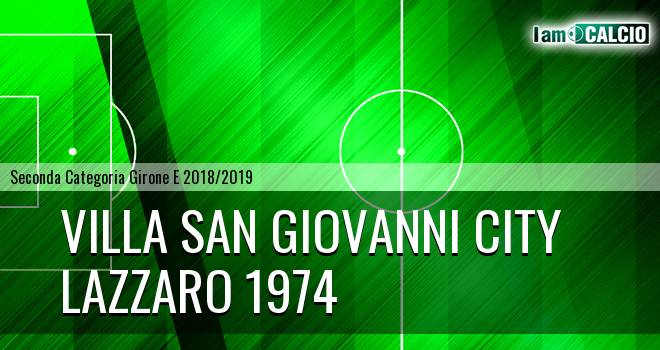 Villa San Giovanni City - Lazzaro 1974