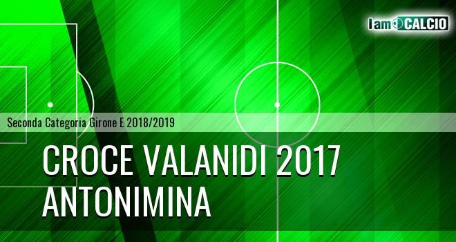 Croce Valanidi 2017 - Antonimina