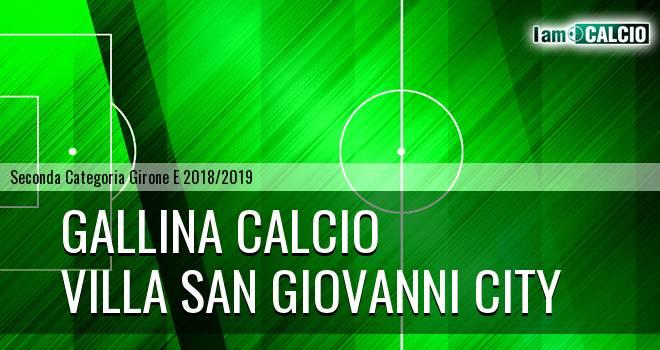 Gallina Calcio - Villa San Giovanni City