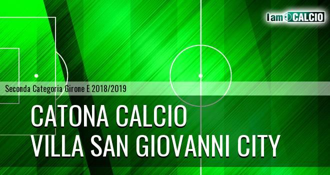 Catona Calcio - Villa San Giovanni City