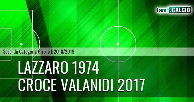 Lazzaro 1974 - Croce Valanidi 2017
