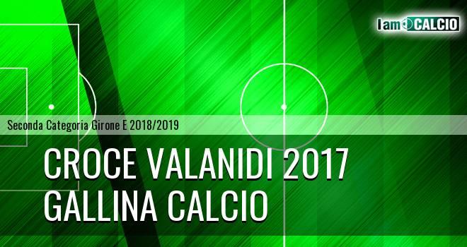 Croce Valanidi 2017 - Gallina Calcio