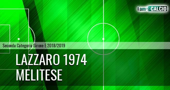Lazzaro 1974 - Melitese