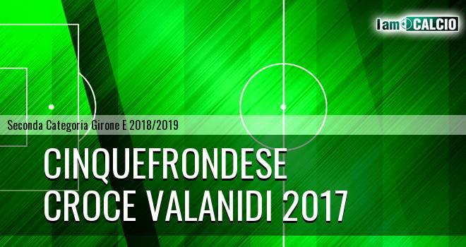 Cinquefrondese - Croce Valanidi 2017