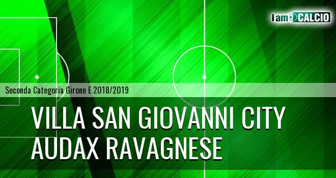 Villa San Giovanni City - Audax Ravagnese