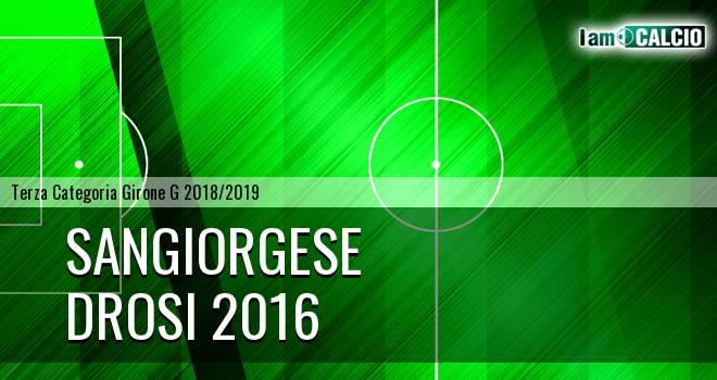 Sangiorgese - Drosi 2016