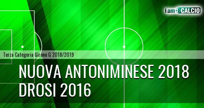 Nuova Antoniminese 2018 - Drosi 2016