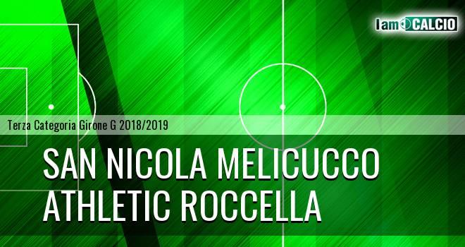 San Nicola Melicucco - Athletic Roccella