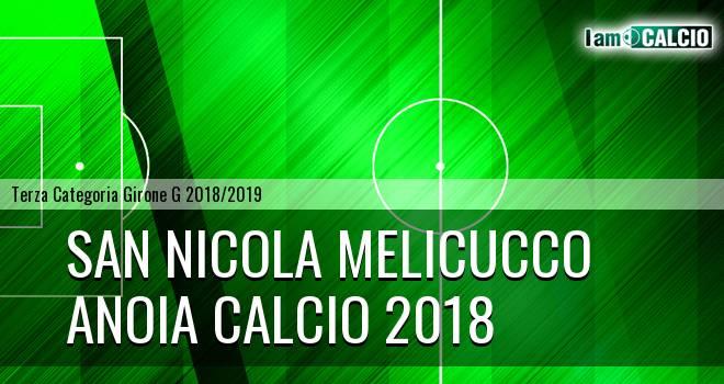 San Nicola Melicucco - Anoia Calcio 2018