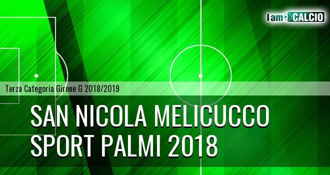San Nicola Melicucco - Sport Palmi 2018