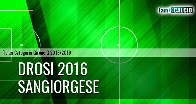 Drosi 2016 - Sangiorgese