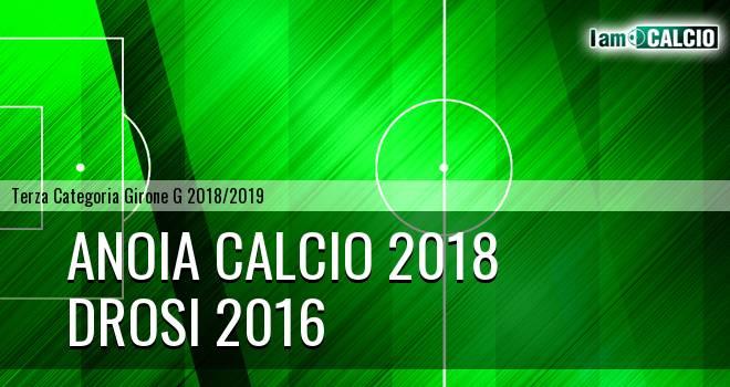 Anoia Calcio 2018 - Drosi 2016