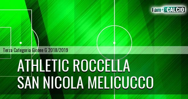 Athletic Roccella - San Nicola Melicucco