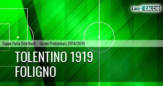 Tolentino 1919 - Foligno
