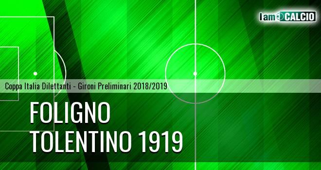 Foligno - Tolentino 1919 5-5. Cronaca Diretta 06/03/2019