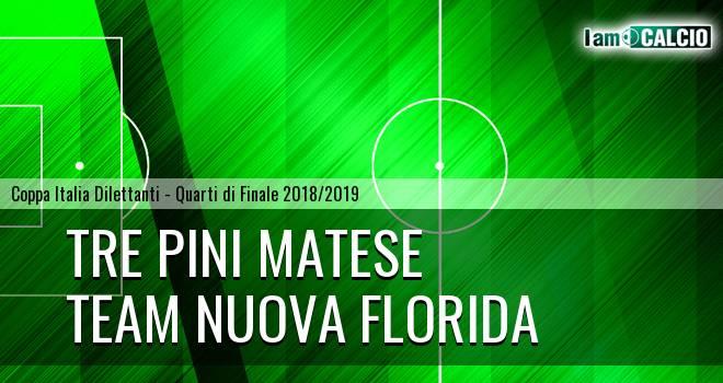 Tre Pini Matese - Team Nuova Florida 0-1. Cronaca Diretta 20/03/2019