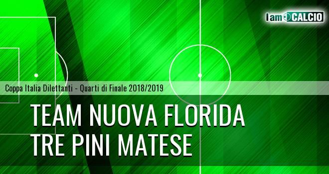 Team Nuova Florida - Tre Pini Matese 2-1. Cronaca Diretta 27/03/2019