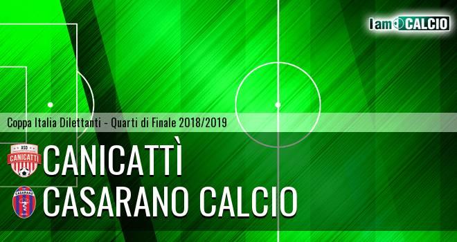 Canicattì - Casarano Calcio
