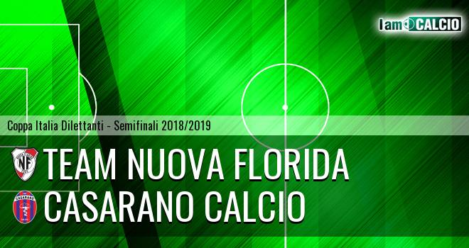 Team Nuova Florida - Casarano Calcio
