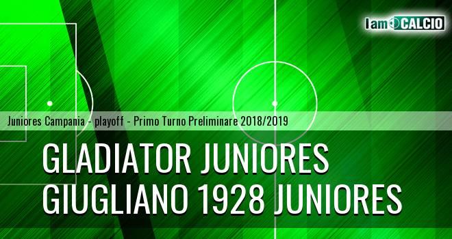 Gladiator Juniores - Giugliano 1928 Juniores