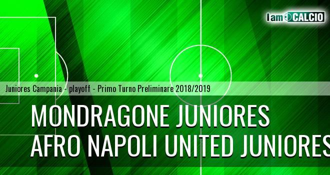 Mondragone Juniores - Afro Napoli United Juniores