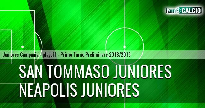 San Tommaso Juniores - Neapolis Juniores