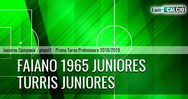 Faiano 1965 Juniores - Turris Juniores