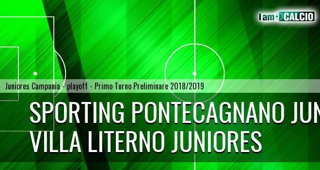 Sporting Pontecagnano Juniores - Villa Literno Juniores