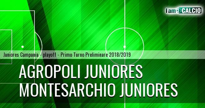 Agropoli Juniores - Montesarchio Juniores