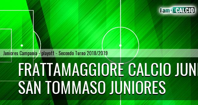 Frattamaggiore Calcio Juniores - San Tommaso Juniores