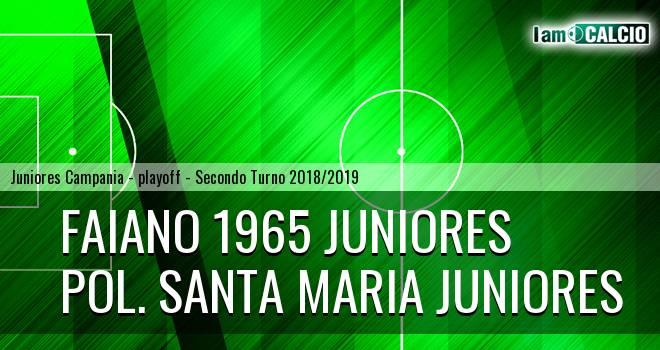 Faiano 1965 Juniores - Pol. Santa Maria Juniores