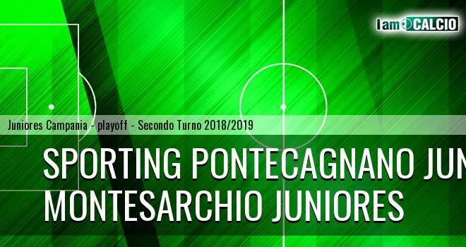 Sporting Pontecagnano Juniores - Montesarchio Juniores