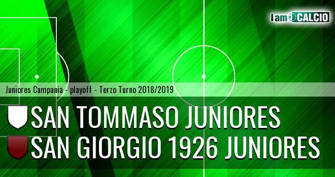 San Tommaso Juniores - San Giorgio 1926 Juniores