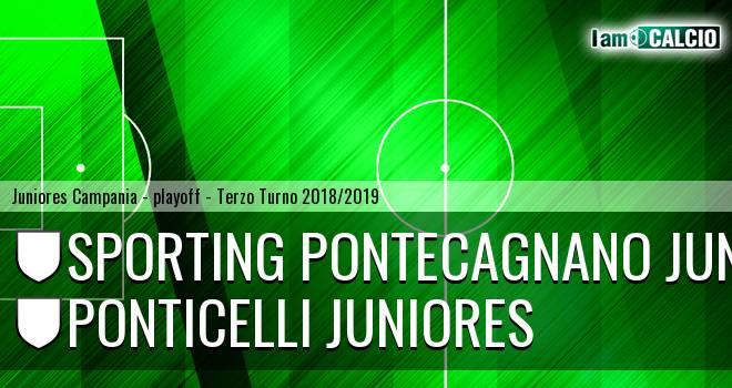 Sporting Pontecagnano Juniores - Ponticelli Juniores
