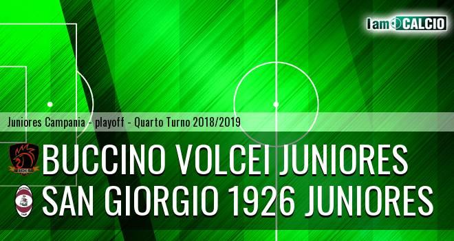 Buccino Volcei Juniores - San Giorgio 1926 Juniores