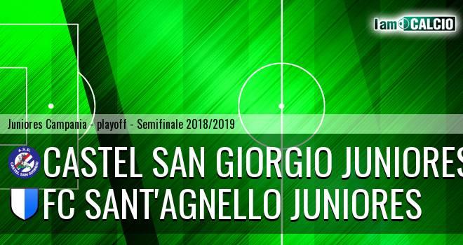 Castel San Giorgio Juniores - FC Sant'Agnello Juniores