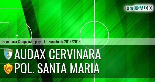 Audax Cervinara - Pol. Santa Maria