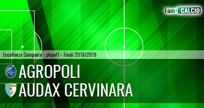 Agropoli - Audax Cervinara 1-0. Cronaca Diretta 05/05/2019