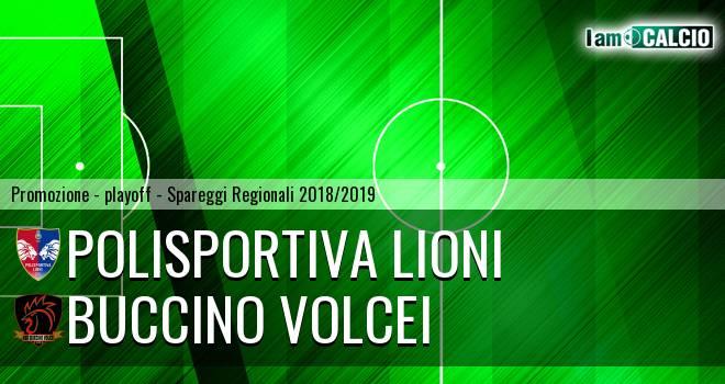 Polisportiva Lioni - Buccino Volcei 1-0. Cronaca Diretta 12/05/2019