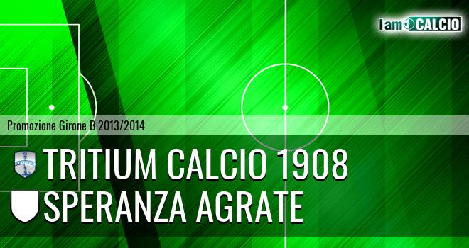 Tritium calcio 1908 - Speranza Agrate