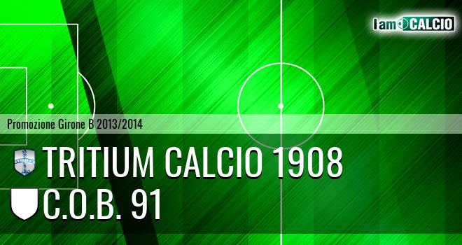 Tritium calcio 1908 - C.O.B. 91