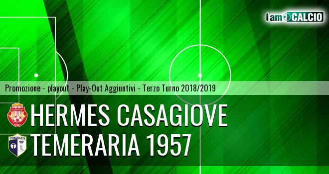 Hermes Casagiove - Temeraria 1957 3-5. Cronaca Diretta 08/06/2019