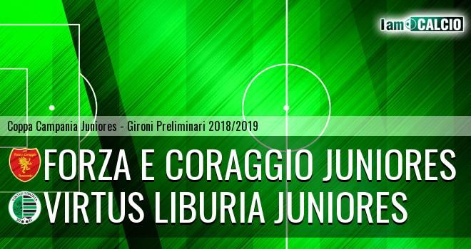 Forza e Coraggio Juniores - Virtus Liburia Juniores