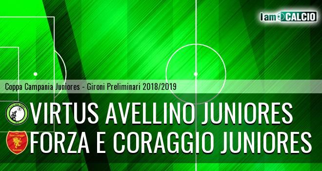 Virtus Avellino Juniores - Forza e Coraggio Juniores