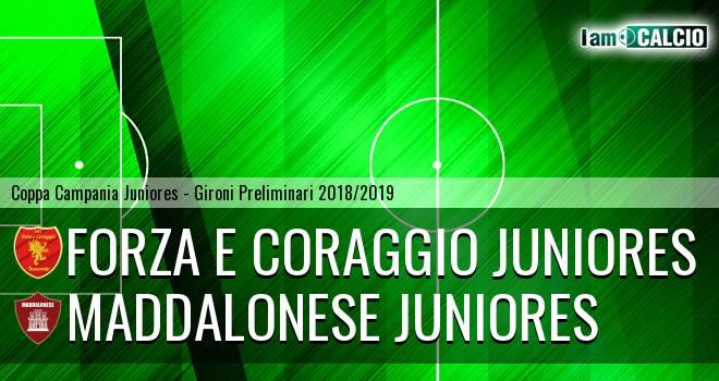 Forza e Coraggio Juniores - Maddalonese Juniores