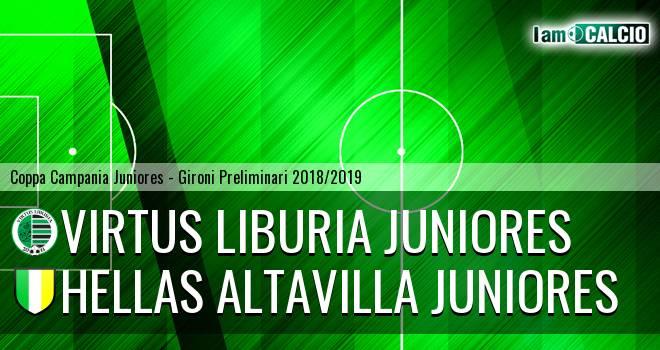 Virtus Liburia Juniores - Hellas Altavilla Juniores