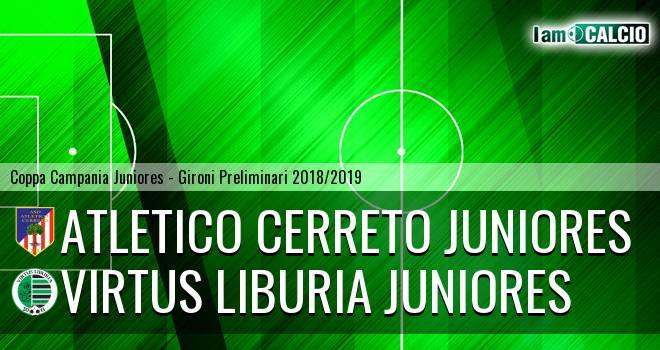 Atletico Cerreto Juniores - Virtus Liburia Juniores