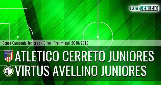 Atletico Cerreto Juniores - Virtus Avellino Juniores