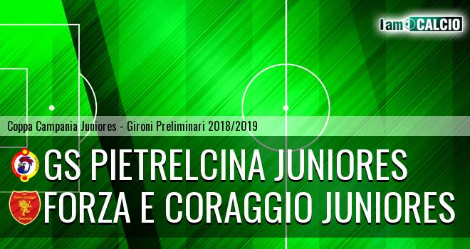 GS Pietrelcina Juniores - Forza e Coraggio Juniores