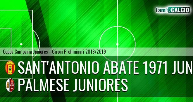 Sant'Antonio Abate 1971 Juniores - Palmese Juniores